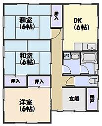 [一戸建] 三重県松阪市川井町 の賃貸【/】の間取り