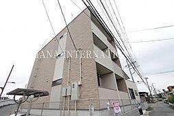 東京都府中市小柳町1丁目の賃貸アパートの外観