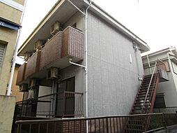 大阪府枚方市牧野阪2の賃貸アパートの外観