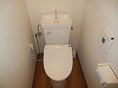 トイレにはウォシュレットも付いています