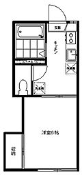 メゾン三田[103号室号室]の間取り