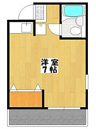 プラムマンション[4階]の間取り
