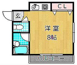 田尻ビル[4階]の間取り