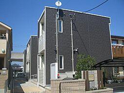 埼玉県八潮市南川崎の賃貸アパートの外観