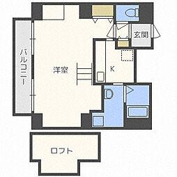 e−ハウス[1304号室]の間取り