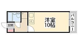 Enuzハイツ[305号室]の間取り