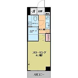 ルーラル五番館[7階]の間取り