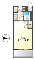 パソテイト覚王山[2階]の間取り