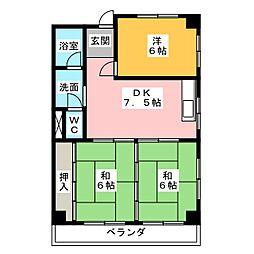 藤島ビル[3階]の間取り