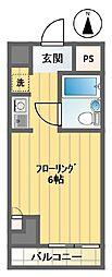 ペガサスマンション笹塚[12階]の間取り