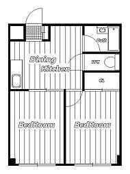 マウンテン宮[2階]の間取り