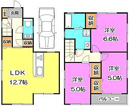 [一戸建] 東京都練馬区南大泉1丁目 の賃貸【/】の間取り