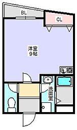 ピュアリティ90[201号室]の間取り