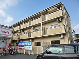 岡山県総社市中央2丁目の賃貸アパートの外観