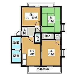 in ひもろぎ[1階]の間取り