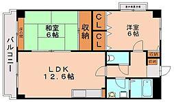 グレースコート11[4階]の間取り
