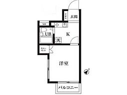 サンシティ稲田堤第6[1階]の間取り