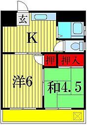 コーポサイトウ[2階]の間取り