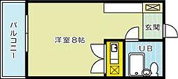 ピュアシティ片野[703号室]の間取り