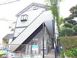 埼玉県蕨市南町3の賃貸アパートの外観