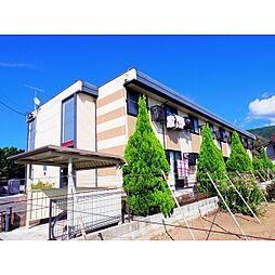 長野県松本市大字大村の賃貸アパートの外観
