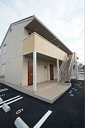 神奈川県平塚市真田3丁目の賃貸アパートの外観