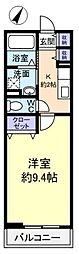 カーサ・アニメート[1階]の間取り