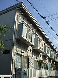 東京都杉並区松ノ木2丁目の賃貸アパートの外観