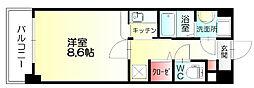 エテルノ御笠川[3階]の間取り