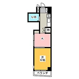 PROXY SQUARE本郷[1階]の間取り