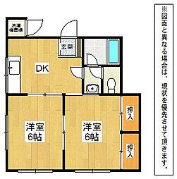 NCハイツ[2階]の間取り