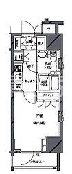 セジョリ北新宿[501号室]の間取り