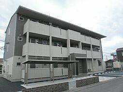 栃木県栃木市平柳町3の賃貸アパートの外観