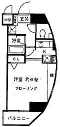 東京都品川区東五反田4丁目の賃貸マンションの間取り