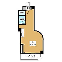 ベレーザ香久山[5階]の間取り