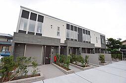 栃木県宇都宮市宝木町1丁目の賃貸アパートの外観