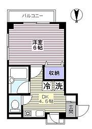 センチュリーパレス[3階]の間取り