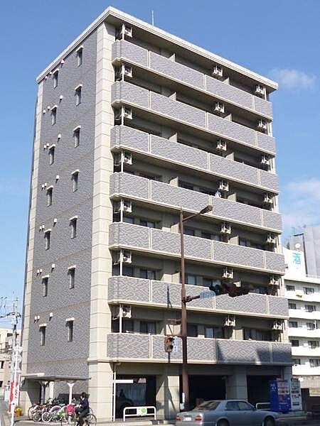 熊本県熊本市中央区白山1丁目の賃貸マンション