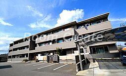 徳島県徳島市北田宮3丁目の賃貸アパートの外観