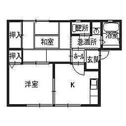 MAIOR YAMATO[1階]の間取り