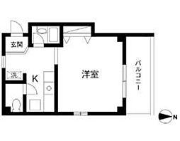 タウンハウス[3階]の間取り