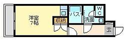 オリエンタル三萩野[404号室]の間取り