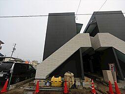 愛知県名古屋市中川区松葉町4丁目の賃貸アパートの外観