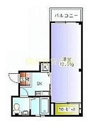 イゾレッタ[2階]の間取り