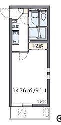 TAKAゼータ(57239-205)[205号室]の間取り
