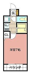 ライオンズマンション小倉駅南第2 402[402号室]の間取り