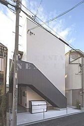大阪府東大阪市小若江3丁目の賃貸アパートの外観