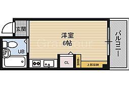 KBCマンション[9階]の間取り