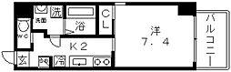 K-flatz(ケーフラッツ)[5階]の間取り