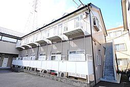 埼玉県越谷市瓦曽根3の賃貸アパートの外観